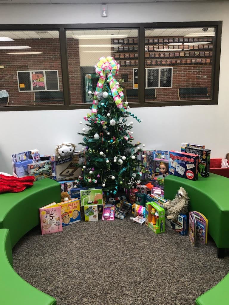 Toy Drive Tree